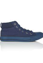 Cutty - Hi-Top Mono Sneaker Navy