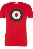 Ben Sherman - Target Print Tee Red