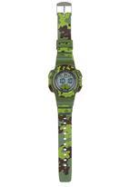 Cool Kids - Camo Digital Watch Mid Green
