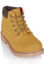 Awol - Boys Boot Camel/Tan