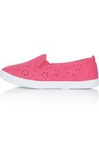Candy's - Girls Sandal Dark Pink