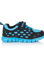 Bubblegummers - Dotted Side Sneaker Mid Blue