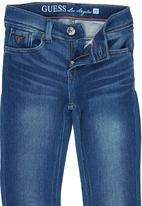 GUESS - Boys  Skinny Knit Denim Mid Blue