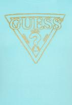 GUESS - Fashion Logo Tee Mid Blue