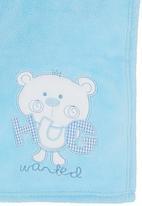 POP CANDY - Blanket Gift Set Pale Blue