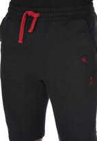 SOVIET - Track Shorts Black Black