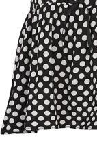 See-Saw - Circular Skirt Black and White