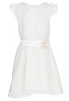 See-Saw - Party Dress With Flower Bow Milk