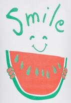 See-Saw - Smile Printed Tee White