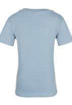 See-Saw - Printed Tee Mid Blue