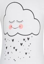 See-Saw - Cloud Printed Tee White