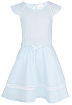See-Saw - Cotton Dress Pale Blue