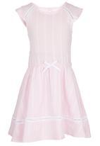 See-Saw - Cotton Dress Pale Pink