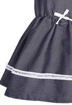 See-Saw - Cotton Dress Dark Blue