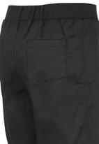 Rebel Republic - Rib Waist Shorts Black