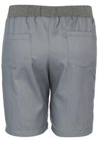 Rebel Republic - Rib Waist Shorts Grey