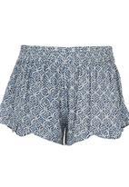 Billabong  - Printed Shorts Mid Blue