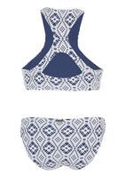 Billabong  - Print Bikini Mid Blue