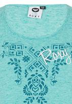 Roxy - Cross Front Vest Light Green