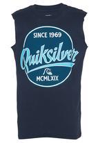 Quiksilver - Printed Vest Navy
