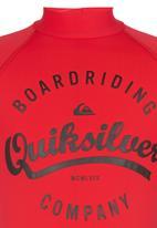 Quiksilver - Rash Vest Red