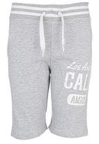 London Hub - Fleece Shorts Grey
