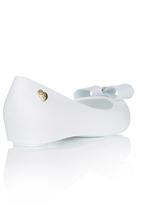 Candy's - Pumps With Decorative Bow White
