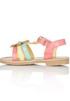 Candy's - Flower Sandal Multi-colour
