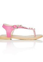 Pretty Feet - Embellished Sandal Mid Pink
