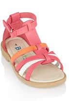 Brats - Ankle Strap Sandal Mid Pink