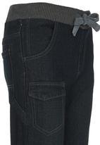 Retro Fire - Denim Jeans Black