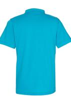 Retro Fire - Golf T-Shirt Multi-colour