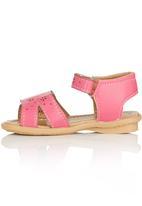 Brats - Flower Cut-Out Sandal Pale Pink