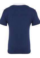 Jungle Beat - Penguin Print  T-Shirt Navy