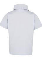 See-Saw - Short Sleeve Shirt Pale Blue