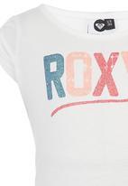 Roxy - Glitter Print Tshirt White