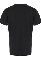 GUESS - S/S Guess Branded Logo Tee Black