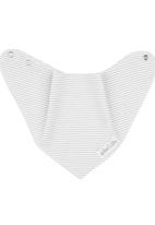 Pickalilly - Striped Bandana Bib Grey