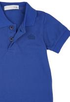 POP CANDY - Golfer T-shirt Mid Blue