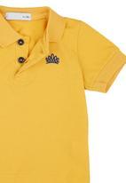 POP CANDY - Golfer T-shirt Yellow