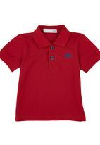 POP CANDY - Golfer T-shirt Dark Red