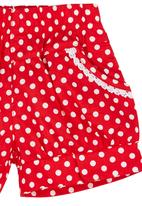 POP CANDY - Polka-dot Shorts Red