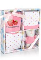 POP CANDY - 4 Piece Gift Set Pale Pink