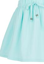 See-Saw - Cotton Skirt Green
