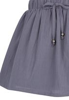 See-Saw - Cotton Skirt Mid Grey