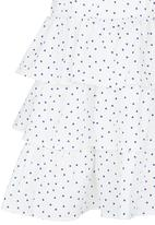 See-Saw - Tiered Skirt Dress White