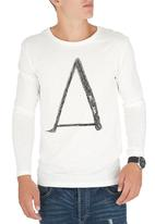 Only & Sons - Niels Long-Sleeve O-Neck White