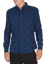 Only & Sons - Carl Long-Sleeve Shirt Blue