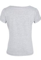See-Saw - Dancing With The Stars Printed Tee Grey