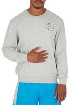 Erke - Erke Pullover Sweatshirt Pale Grey